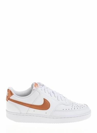 Nike Kadın Beyaz Sneakers CD5434 - 107 Wmns Court Vision Beyaz
